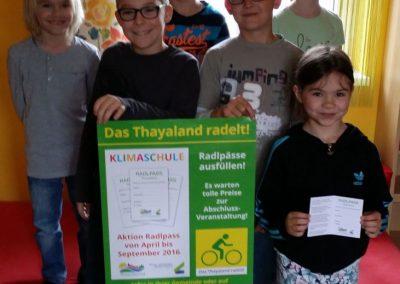 Start der Aktion RadlPass in der Volksschule