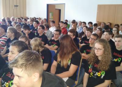 Abschluss Klimasschulen 2016 im Gemeinezentrum in Gastern