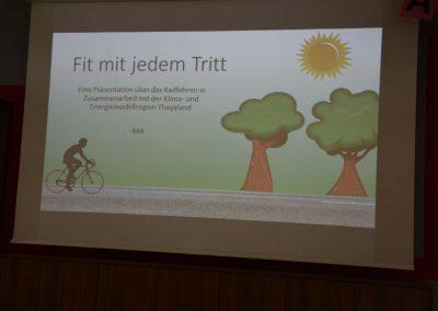 Fit mit jedem Tritt - Thema Radfahren in der HAK Waidhofen2015