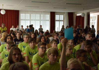 Abschlussveranstaltung Klimaschulen 2017 im Gymnasium Waidhofen