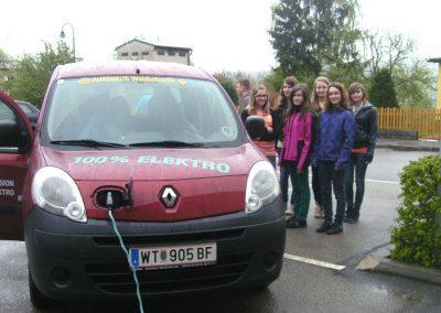 Hauptschule Dobersberg - Elektroauto