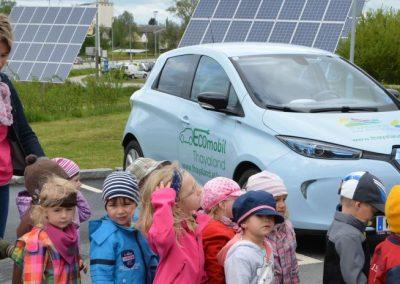 Kindergarten Vitis - ECOmobil und PV Tracker