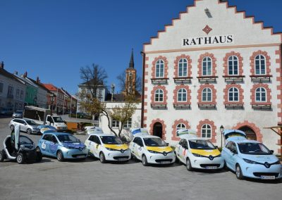 E-Carsharing Flotte