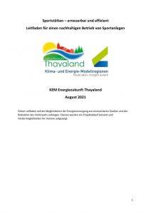thumbnail of Sportstaetten_Leitfaden_erneuerbare_Energie_KEM_Thayaland