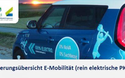 Förderung E-Autos