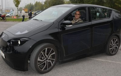 Zukunftsfähige Mobilität- E-Auto Test