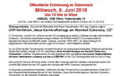 Öffentliche Erörterung in Österreich